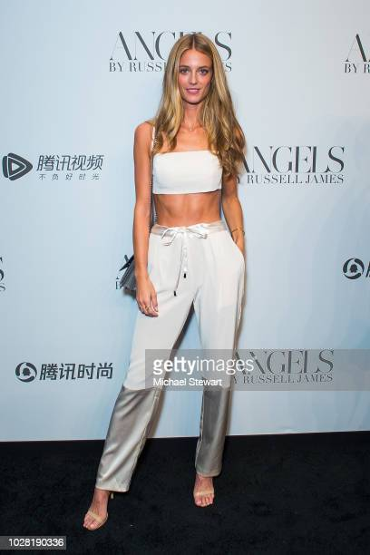 Kate Bock attends the Russell James 'Angels' book launch & exhibit at Stephan Weiss Studio on September 6, 2018 in New York City.