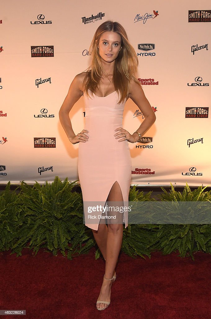 Sports Illustrated 2015 Swimsuit Takes Over Nashville With Kings of Leon : News Photo