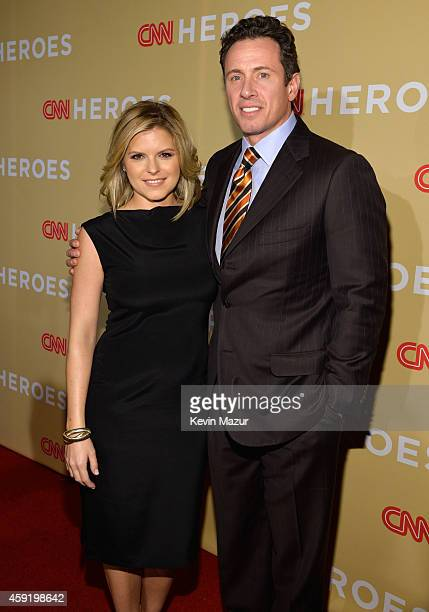 Kate Bolduan and Chris Cuomo attend the 2014 CNN Heroes An All Star Tribute at American Museum of Natural History on November 18 2014 in New York...