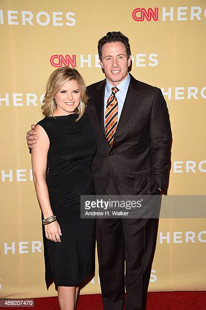Kate Bolduan and Chris Cuomo attend the 2014 CNN Heroes An AllStar Tribute at the American Museum of Natural History on November 18 2014 in New York...