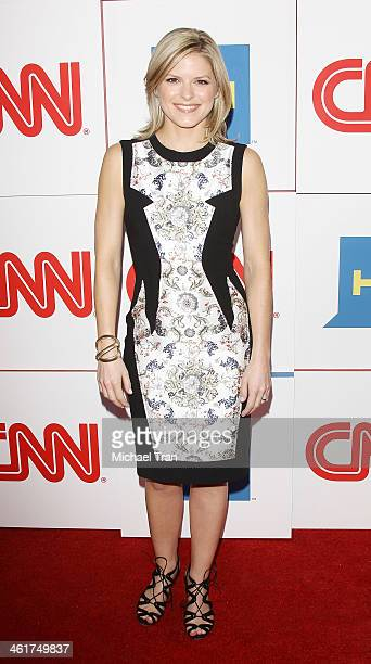 Kate Bolduan arrives at the CNN Worldwide AllStar 2014 Winter TCA party held at Langham Huntington Hotel on January 10 2014 in Pasadena California