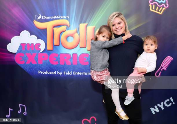Kate Bolduan attends DreamWorks Trolls The Experience Rainbow Carpet Grand Opening on November 14 2018 in New York City