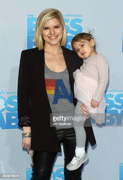 Kate Bolduan attends The Boss Baby New York premiere at AMC Loews Lincoln Square 13 theater on March 20 2017 in New York City