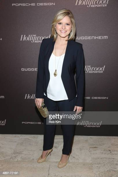 Kate Bolduan attends The Hollywood Reporter 35 Most Powerful People In Media Celebration at The Four Seasons Restaurant on April 16 2014 in New York...