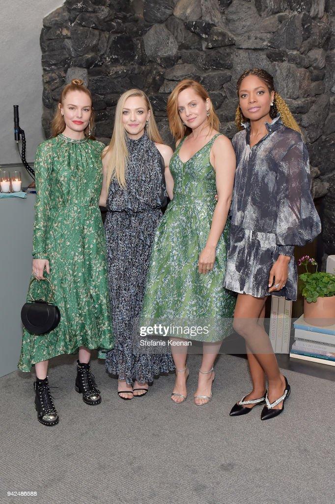 3aba0fcc498e5 Kate Bosworth, Amanda Seyfried, Mena Suvari and Naomie Harris attend ...