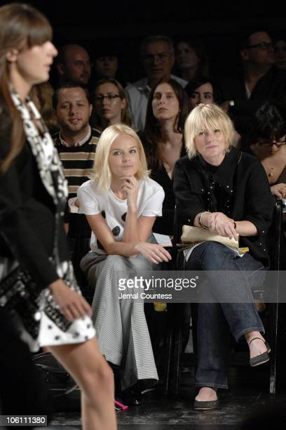 Kate Bosworth and Amy Astley during Olympus Fashion Week Spring 2007 Luella Bartley Front Row and Backstage at SONY Studios in New York City New York...