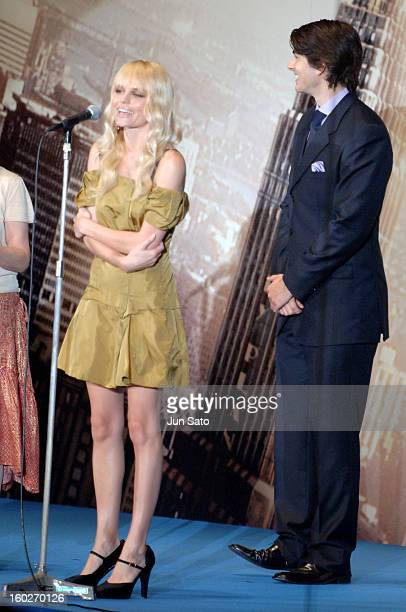 Kate Bosworth and Brandon Routh during Superman Returns Tokyo Premiere Stage Greeting at Roppongi Hills Arena in Tokyo Japan
