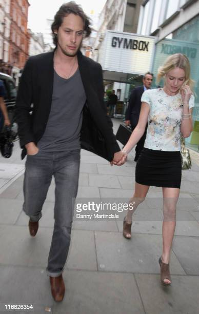 Kate Bosworth and guest attend Simon Aboud book launch party at the St Martins Lane Hotel on June 8 2009 in London England