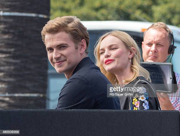 Kate Bosworth and Hayden Christensen are seen on August 27 2015 in Los Angeles California