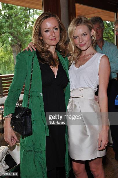 Kate Bosworth and Lucy Yeomans pose as The McCartney Family Launches �Meat Free Monday' at Inn The Park on June 15 2009 in London England