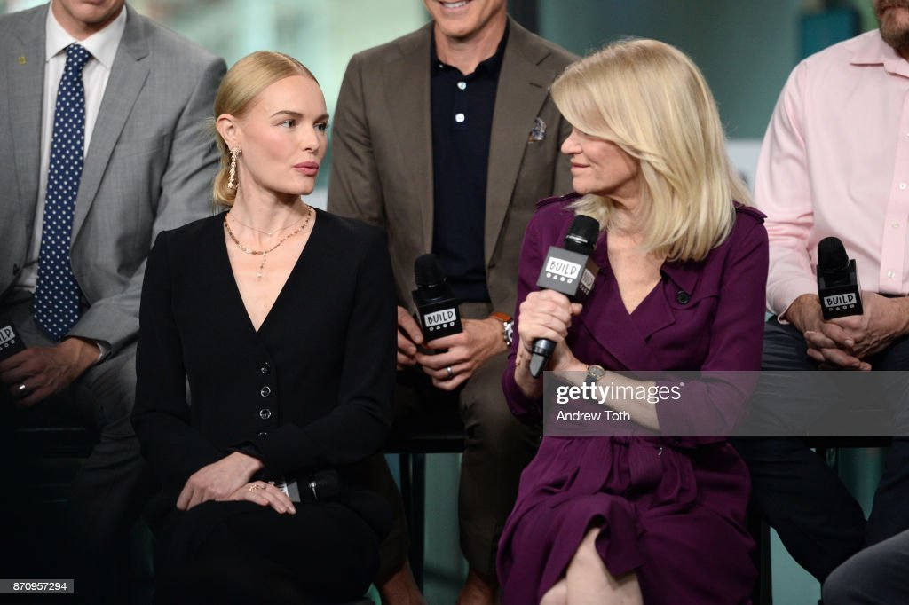 Kate Bosworth and Martha Raddatz attend Build presents the cast of 'The Long Road Home' at Build Studio on November 6, 2017 in New York City.