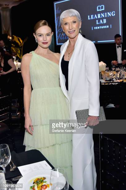 Kate Bosworth and Maye Musk attend Learning Lab Ventures 2019 Gala Presented by Farfetch at Beverly Hills Hotel on January 31 2019 in Beverly Hills...
