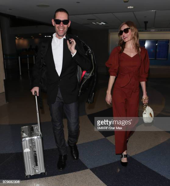 Kate Bosworth and Michael Polish are seen on March 8 2018 in New York City