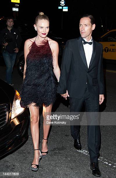 Kate Bosworth and Michael Polish attends the after party for the Schiaparelli and Prada Impossible Conversations Costume Institute exhibition on May...