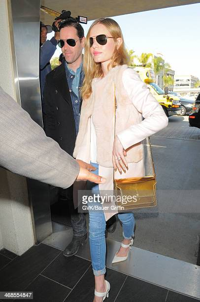 Kate Bosworth and Michael Polish seen at LAX airport on February 10 2014 in Los Angeles California