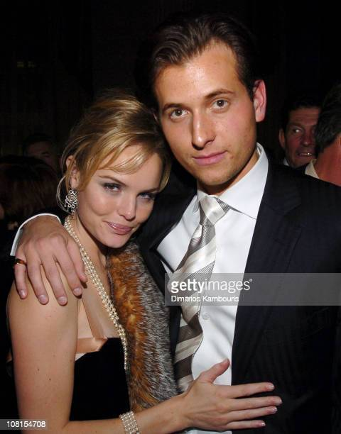 Kate Bosworth and Peter Cincotti during Beyond The Sea New York Premiere After Party at Waldorf Astoria in New York City New York United States