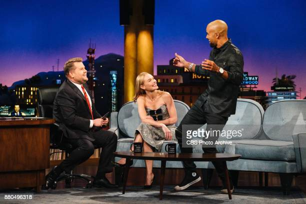 Kate Bosworth and Shemar Moore chat with James Corden during 'The Late Late Show with James Corden' Monday November 20 2017 On The CBS Television...