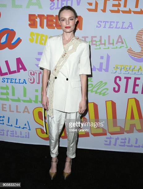 Kate Bosworth arrives at the Stella McCartney's Autumn 2018 Collection Launch on January 16 2018 in Los Angeles California