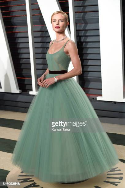 Kate Bosworth arrives for the Vanity Fair Oscar Party hosted by Graydon Carter at the Wallis Annenberg Center for the Performing Arts on February 26...