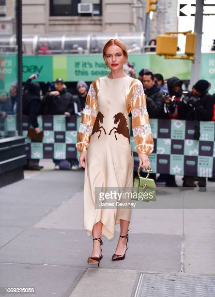 Kate Bosworth arrives to 'Build' at Build Studios on December 6 2018 in New York City