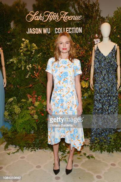 Kate Bosworth attends a luncheon hosted by Marc Metrick President of Saks Fifth Avenue and Mary Martin with Jason Wu on January 17 2019 in Los...