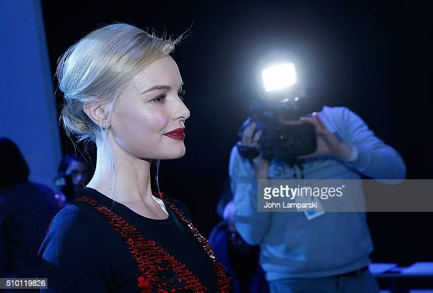 Kate Bosworth attends Altuzarra show during the Fall 2016 New York Fashion Week on February 13 2016 in New York City