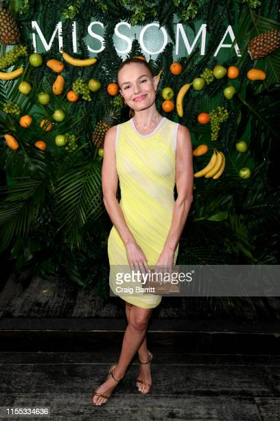 Kate Bosworth attends as Missoma celebrates the launch of Momposina in NYC with Kate Bosworth and Chanel Iman on June 11 2019 in New York City