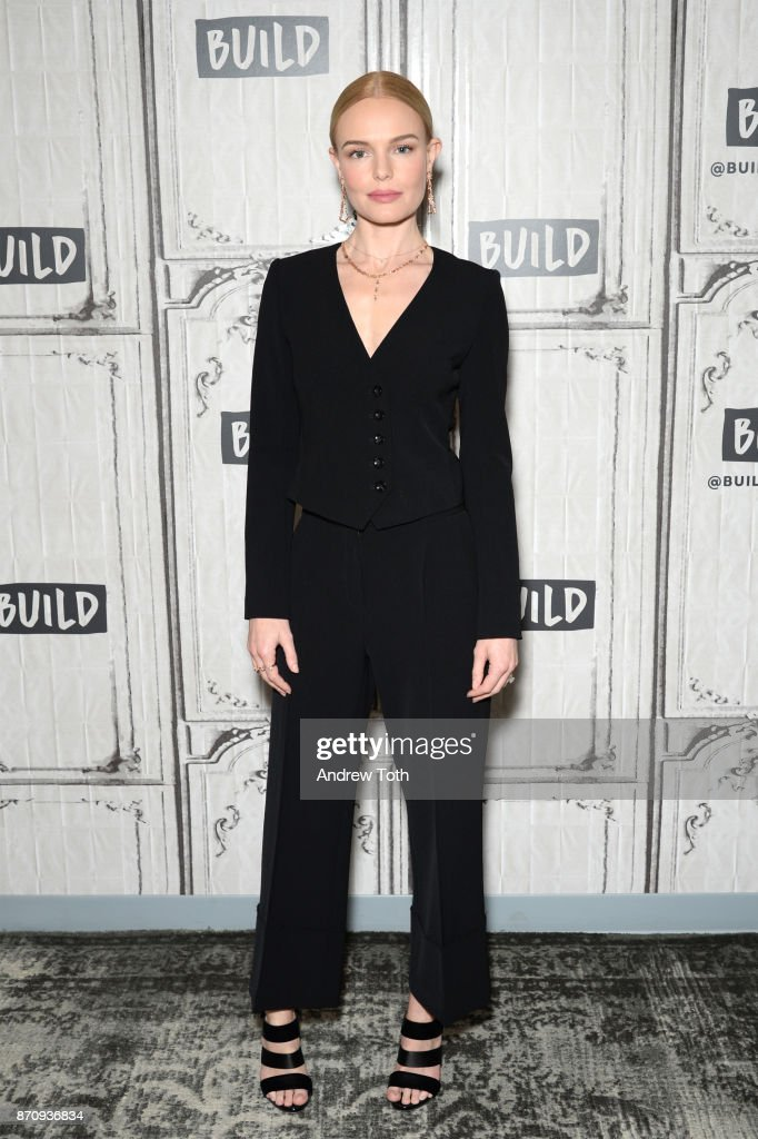 Kate Bosworth attends Build Presents the cast of 'The Long Road Home' at Build Studio on November 6, 2017 in New York City.