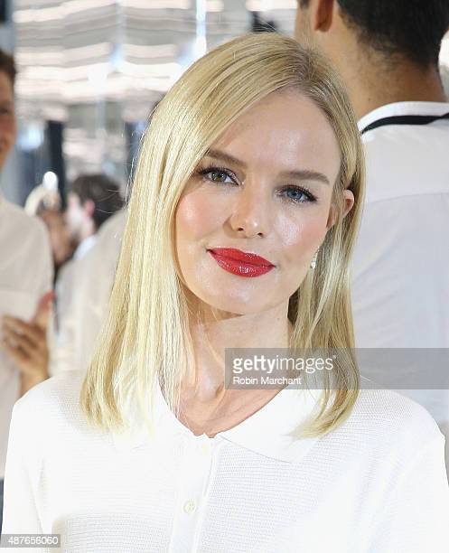 Kate Bosworth attends House of Gant Presentation during Spring 2016 New York Fashion Week on September 10 2015 in New York City