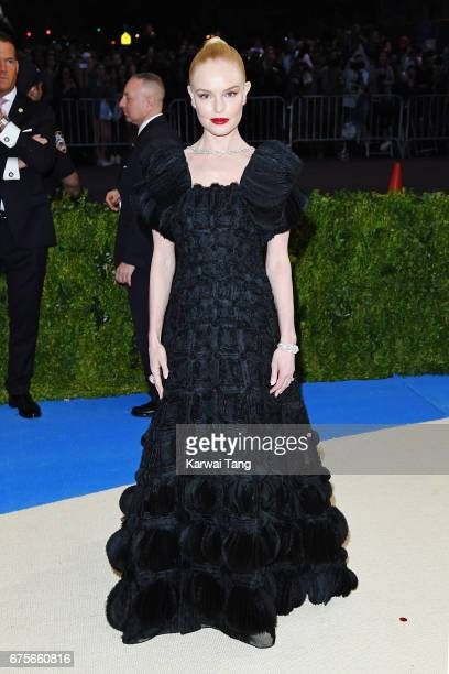 Kate Bosworth attends 'Rei Kawakubo/Comme des Garcons Art Of The InBetween' Costume Institute Gala at Metropolitan Museum of Art on May 1 2017 in New...