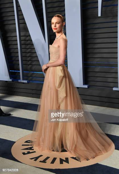 Kate Bosworth attends the 2018 Vanity Fair Oscar Party hosted by Radhika Jones at Wallis Annenberg Center for the Performing Arts on March 4, 2018 in...