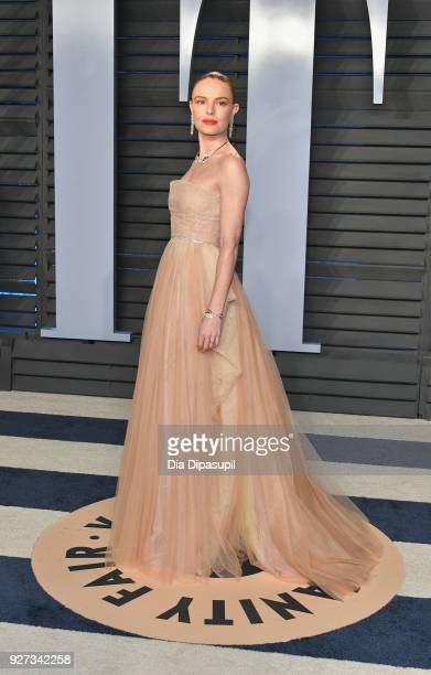 Kate Bosworth attends the 2018 Vanity Fair Oscar Party hosted by Radhika Jones at Wallis Annenberg Center for the Performing Arts on March 4 2018 in...