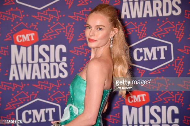 Kate Bosworth attends the 2019 CMT Music Awards at Bridgestone Arena on June 05, 2019 in Nashville, Tennessee.