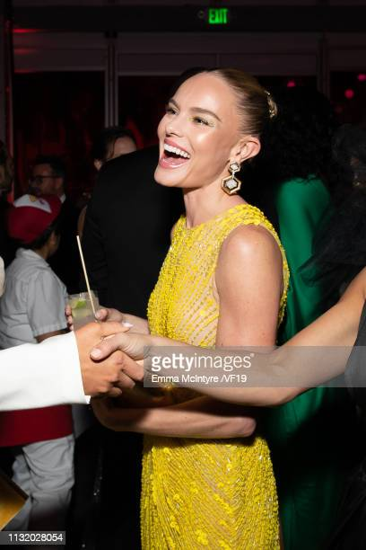 Kate Bosworth attends the 2019 Vanity Fair Oscar Party hosted by Radhika Jones at Wallis Annenberg Center for the Performing Arts on February 24 2019...