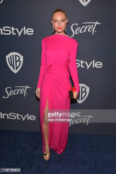 Kate Bosworth attends The 2020 InStyle And Warner Bros 77th Annual Golden Globe Awards PostParty at The Beverly Hilton Hotel on January 05 2020 in...