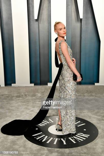 Kate Bosworth attends the 2020 Vanity Fair Oscar Party hosted by Radhika Jones at Wallis Annenberg Center for the Performing Arts on February 09 2020...