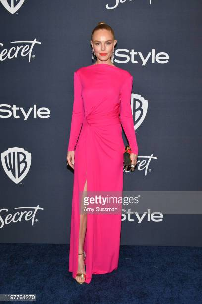 Kate Bosworth attends the 21st Annual Warner Bros And InStyle Golden Globe After Party at The Beverly Hilton Hotel on January 05 2020 in Beverly...