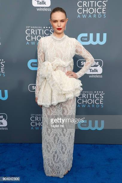 Kate Bosworth attends the 23rd Annual Critics' Choice Awards at Barker Hangar on January 11 2018 in Santa Monica California