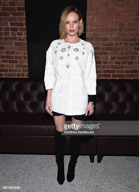 Kate Bosworth attends The Cinema Society with Montblanc and Dom Perignon screening of Sony Pictures Classics' Still Alice after party at White Street...