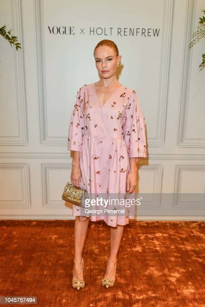 Kate Bosworth attends the Exclusive Vogue Pop Up Launch Party at Holt Renfrew Toronto on October 4 2018 in Toronto Canada
