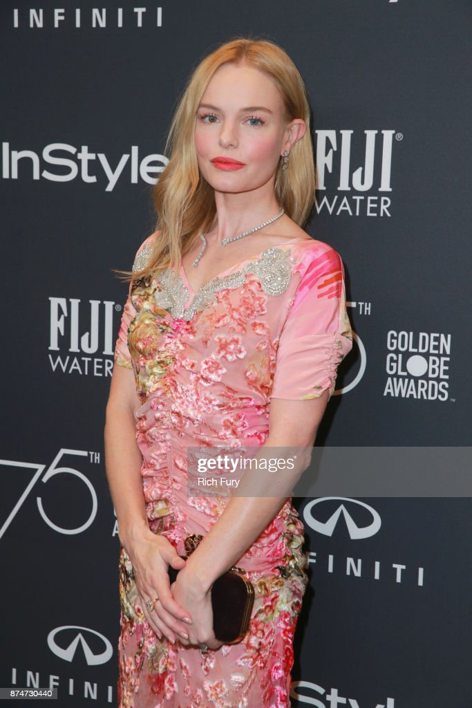 Kate Bosworth attends the Hollywood Foreign Press Association and InStyle celebrate the 75th Anniversary of The Golden Globe Awards at Catch LA on November 15, 2017 in West Hollywood, California.