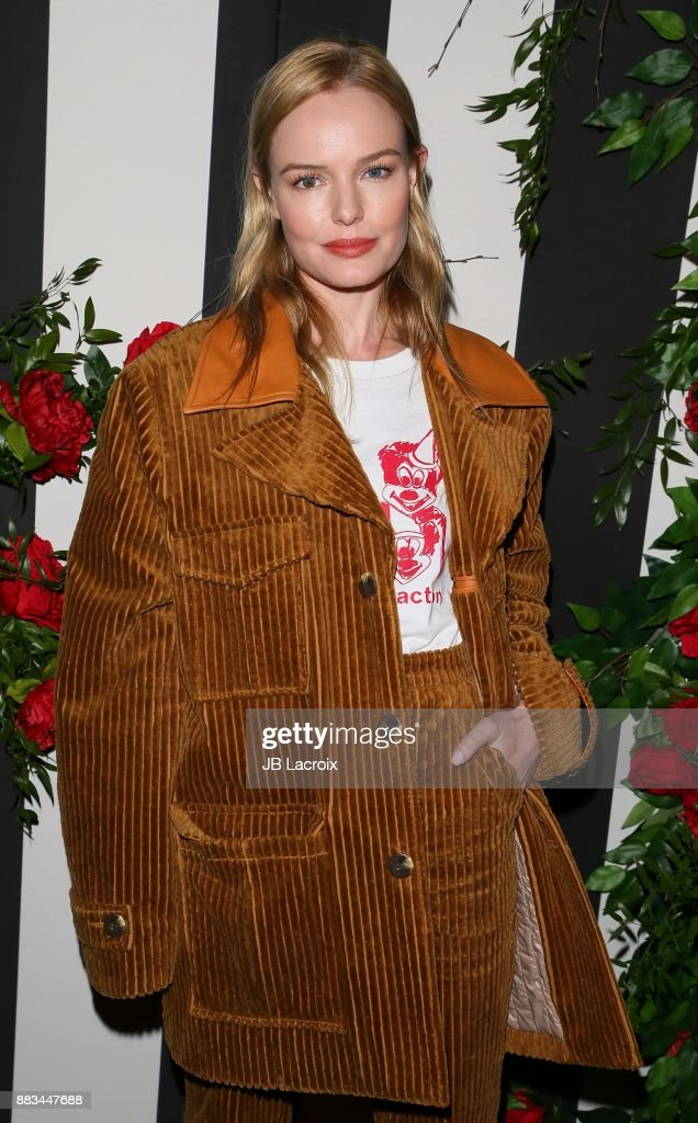 Kate Bosworth attends the LAND of distraction Launch Event at Chateau Marmont on November 30, 2017 in Los Angeles, California.