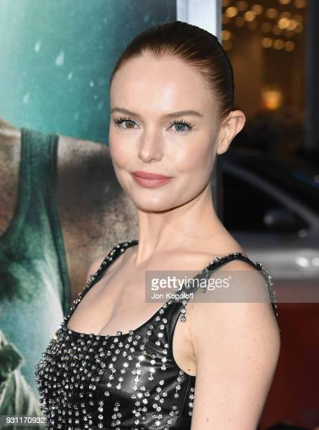 Kate Bosworth attends the Los Angeles Premiere 'Tomb Raider' at TCL Chinese Theatre IMAX on March 12 2018 in Hollywood California