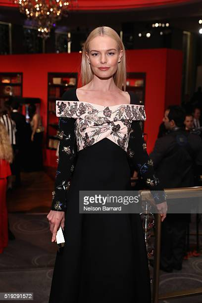 Kate Bosworth attends the Montblanc 110 Year Anniversary Gala Dinner on April 5 2016 in New York City