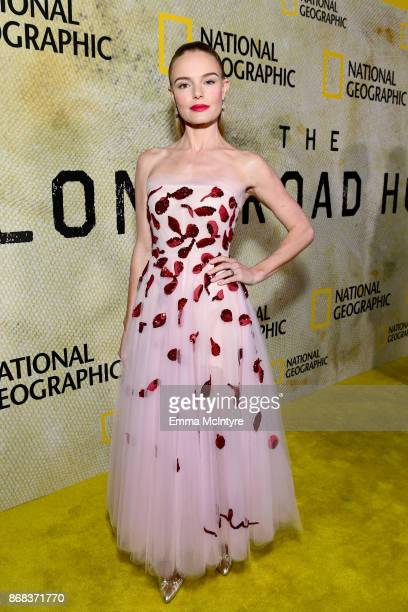 Kate Bosworth attends the premiere of National Geographic's 'The Long Road Home' at Royce Hall on October 30 2017 in Los Angeles California