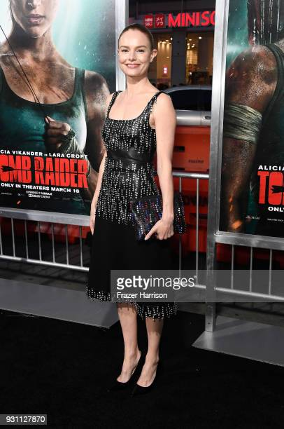 Kate Bosworth attends the premiere of Warner Bros Pictures' 'Tomb Raider' at TCL Chinese Theatre on March 12 2018 in Hollywood California