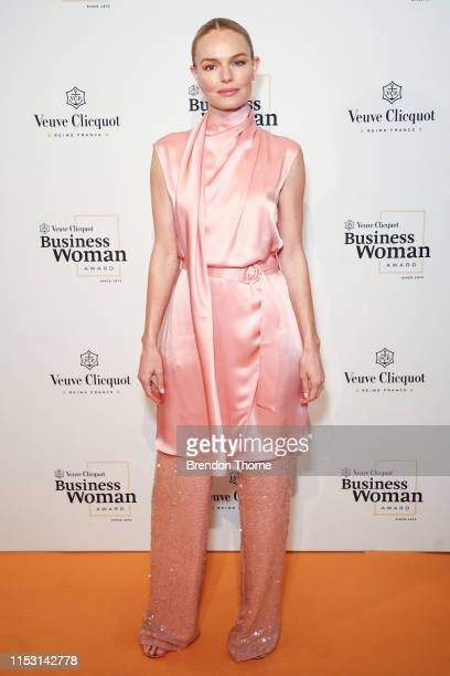 Kate Bosworth attends the Veuve Clicquot Business Woman Award at Museum of Contemporary Art on July 2 2019 in Sydney Australia