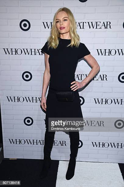 Kate Bosworth attends Who What Wear x Target launch party at ArtBeam on January 27 2016 in New York City