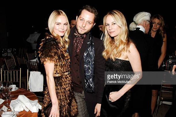 Kate Bosworth Derek Blasberg and Rebekah McCabe attend The Fashion Group International NIGHT OF STARS 2008 Gala The Alchemists at Cipriani Wall...