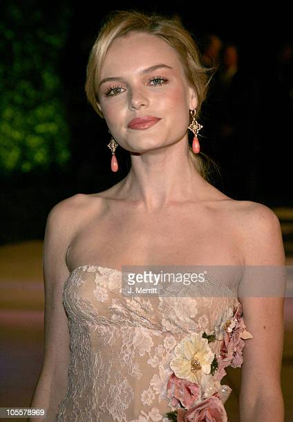 Kate Bosworth during 2005 Vanity Fair Oscar Party at Mortons in Los Angeles, California, United States.